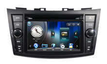 Car DVD Player GPS Navigation Central Multimedia for Suzuki Swift 2011 2012 2013 2014 2015 Ipod Free Shipping map RDS Raido
