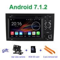 Android 7.1.2 Car DVD Player Multimedia for Audi A4 2002 2008 with Bluetooth WIFI GPS Navigation Radio Canbus 2 GB RAM