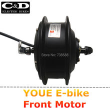 36V 48V 250W High Speed Brushless Gear Hub Quick Release Motor E-bike Quick Release Motor Front Wheel Drive YOUE Brand