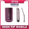 Телефон Nokia, разблокированный 3710 перевёрнутый отремонтированный сотовый 3 G 3.2 mp камера bluetooth