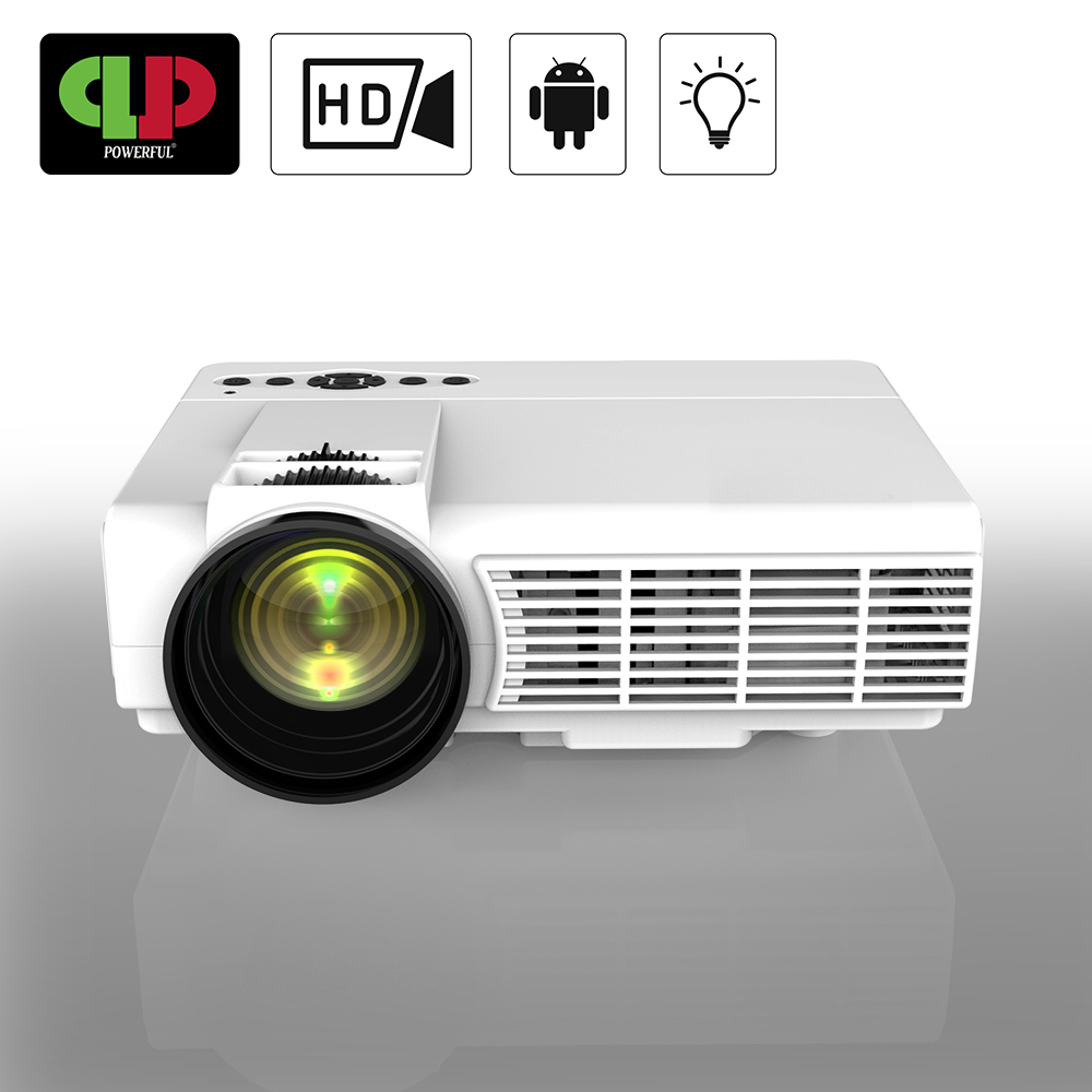 Actief Krachtige Mini Projector Q5 Draagbare Full Hd Led Projector 1800 Lumen Home Theater Systeem Proyector Mini Led Projector Android