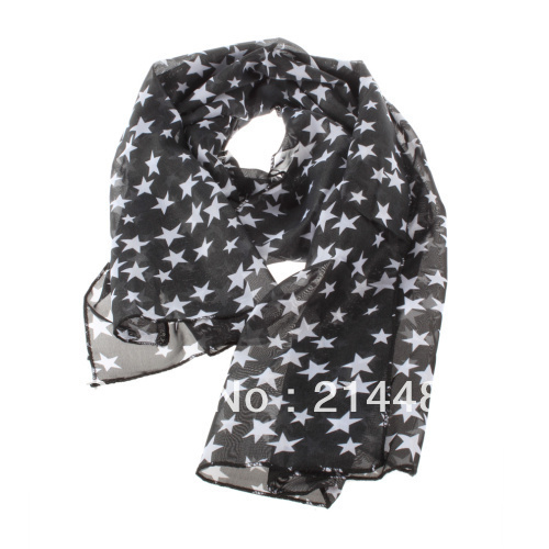 Fashion star   scarf   women Ladies Floral Chiffon   Scarf   Soft   Wrap   Long shawls and   scarves   foulard femme high quality New