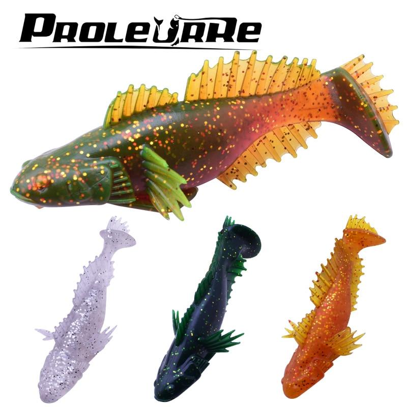 1 шт. 100 мм 20 г сом модель Блесен PESCA мягкие силиконовые приманки Swimbaits Карп воблеры для поверхности Рыбалка поймать большая рыба ...