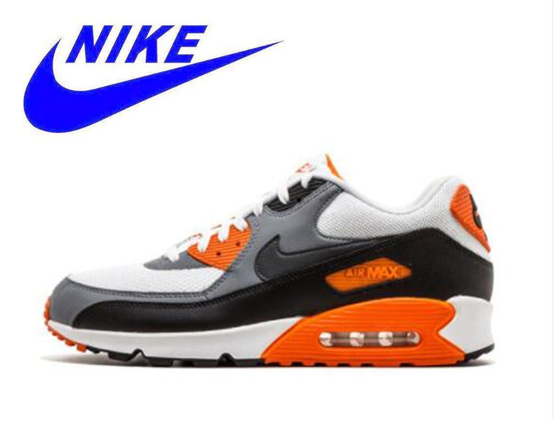 c0ead62ce9c8 NIKE AIR MAX 90 ESSENTIAL Mens Running Shoes Mesh Breathable Footwear Super  Light Support Sports Sneakers For Men Shoes  537384