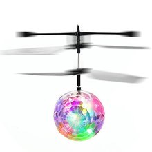 Toysea colorfulflying шары RC Летающие игрушки с инфракрасным индукции автомобиль приостановлено дистанционного Управление для мальчиков и девочек