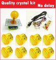 1 kit for PC controller with 45mm crystal top ball joystick and 30mm buttons Multicade Keyboard Encoder