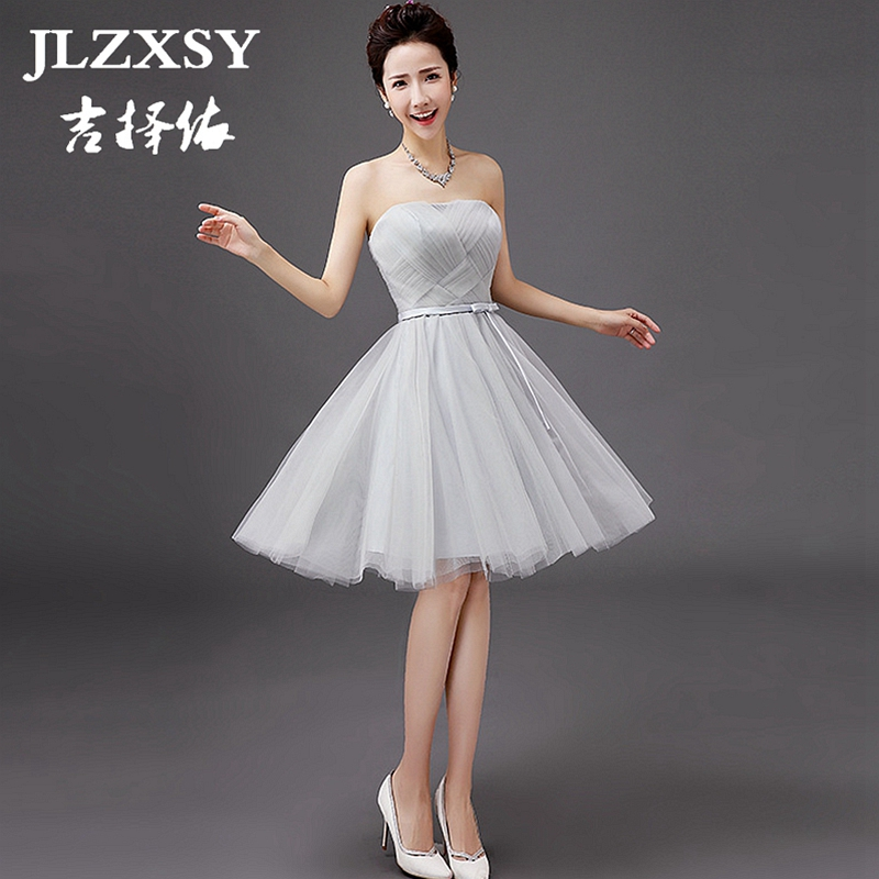Aliexpress.com : Buy JLZXSY 2017 New Silver Gray Dress