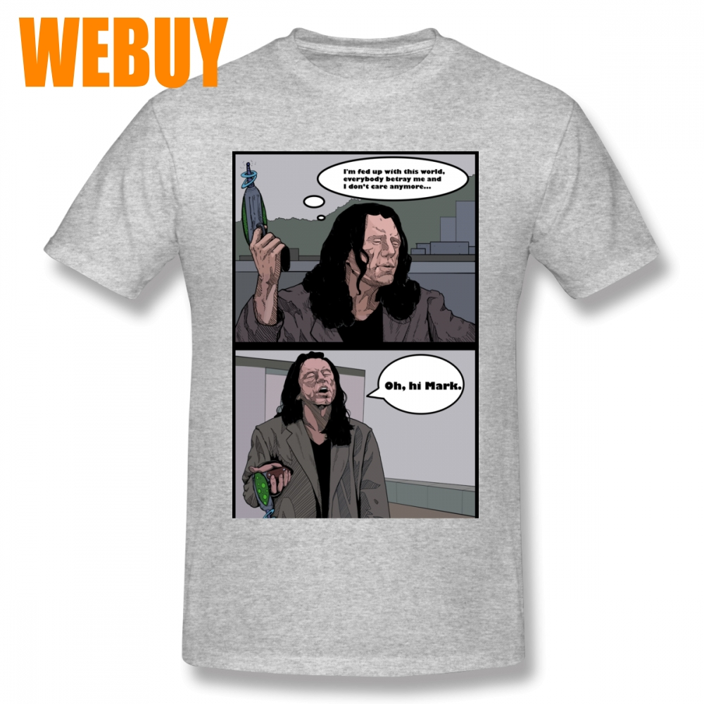 a61ec24d9f5 For Man New T Shirt S 6XL Tommy Wiseau Oh Hi Mark Retro Tee Shirt Male Rock  And Roll Short Sleeve-in T-Shirts from Men s Clothing on Aliexpress.com ...