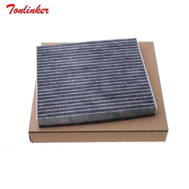 Tonlinker filtr powietrza kabiny samochodu 51917801 pasuje do płaskiego Viaggio OTTIMO 1.4T Model 2012 2013 2014 2015 2016 rdzeń filtra akcesoria