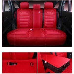 Image 5 - 자동차 믿을만한 자동차 시트 커버 Toyota corolla chr auris wish aygo prius avensis camry 40 50 자동차 시트 용 액세서리 커버