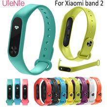 For Xiaomi Mi Band 2 smart watch Strap Round hole silicone Strap Band 2 Bracelet Wristband Band Wrist Strap For Xiaomi Mi Band 2