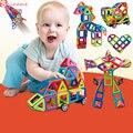 Qualidade Designer De Brinquedos Educativos Blocos De Construção Da Polícia Aviões da Série Magnética Montar Tijolos Brinquedos para Crianças Presente de Natal do bebê