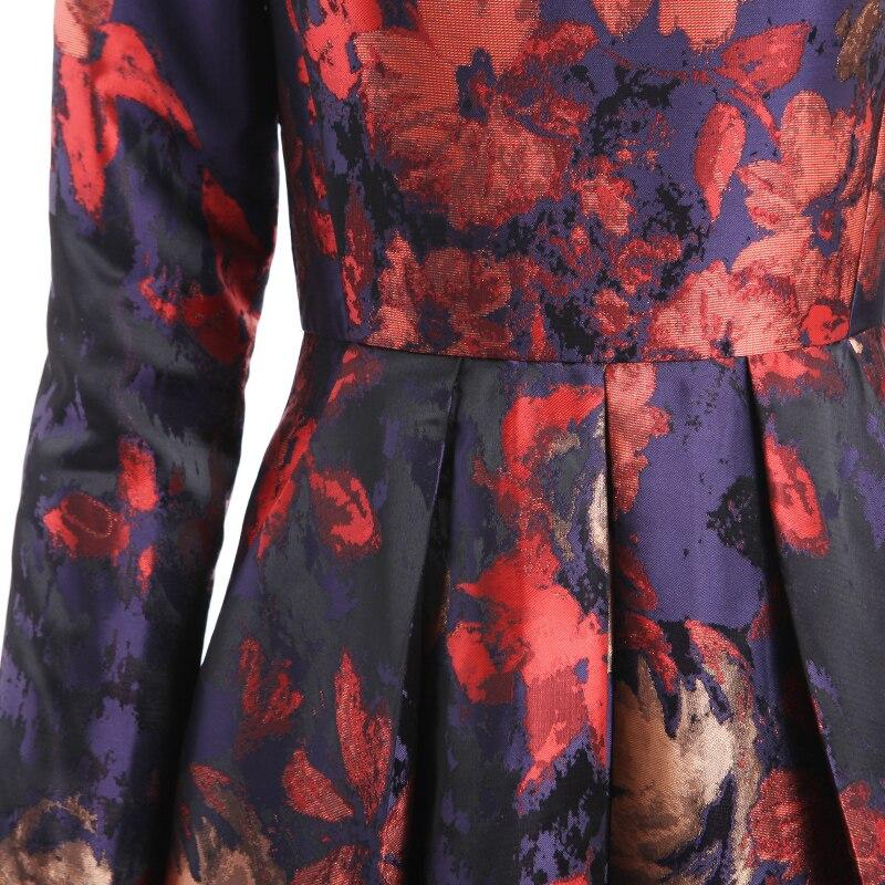 Swing Siamois Longues Printemps Dragon Taille Dress Digne Atmosphère Big Peiling Manches Nouvelle 2017 Fw7FqB4