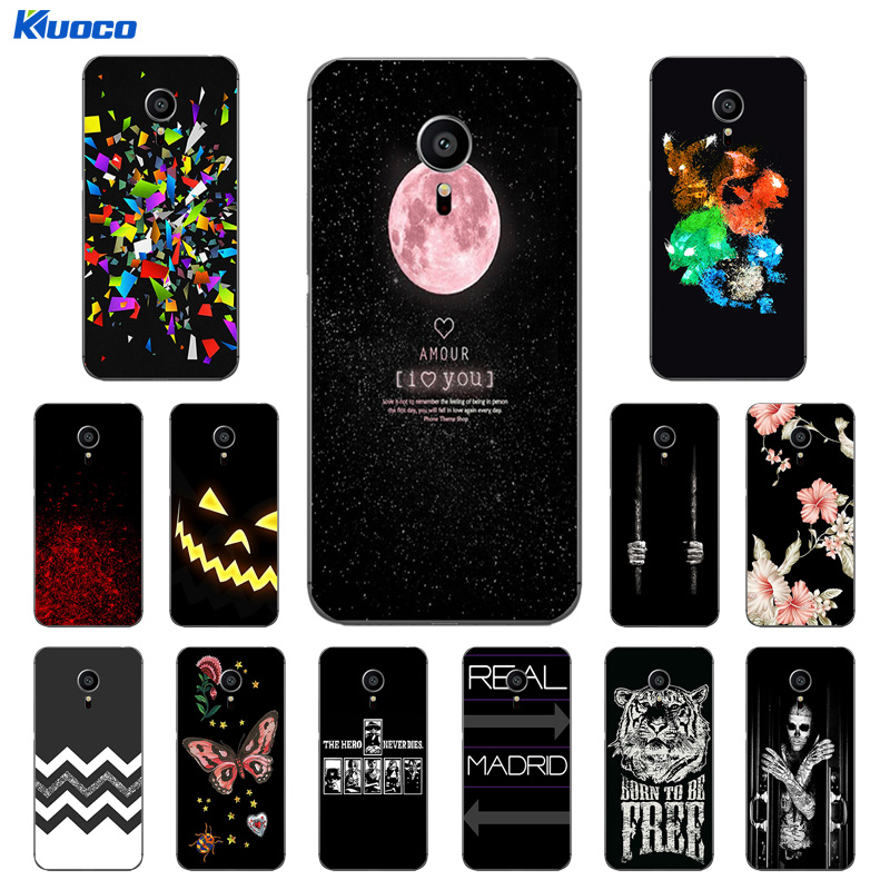 for Meizu Pro 5 Silicone Case Transparent TPU for Meizu MX5 Pro Back Phone Cover Character Printing for Meizu Pro5 Shell Capa
