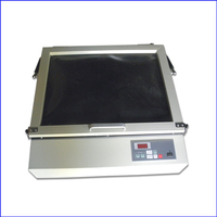 Free Shipping Protable Screen Printing Vacuum Exposure Unit With 2 Extra Tube For Backup