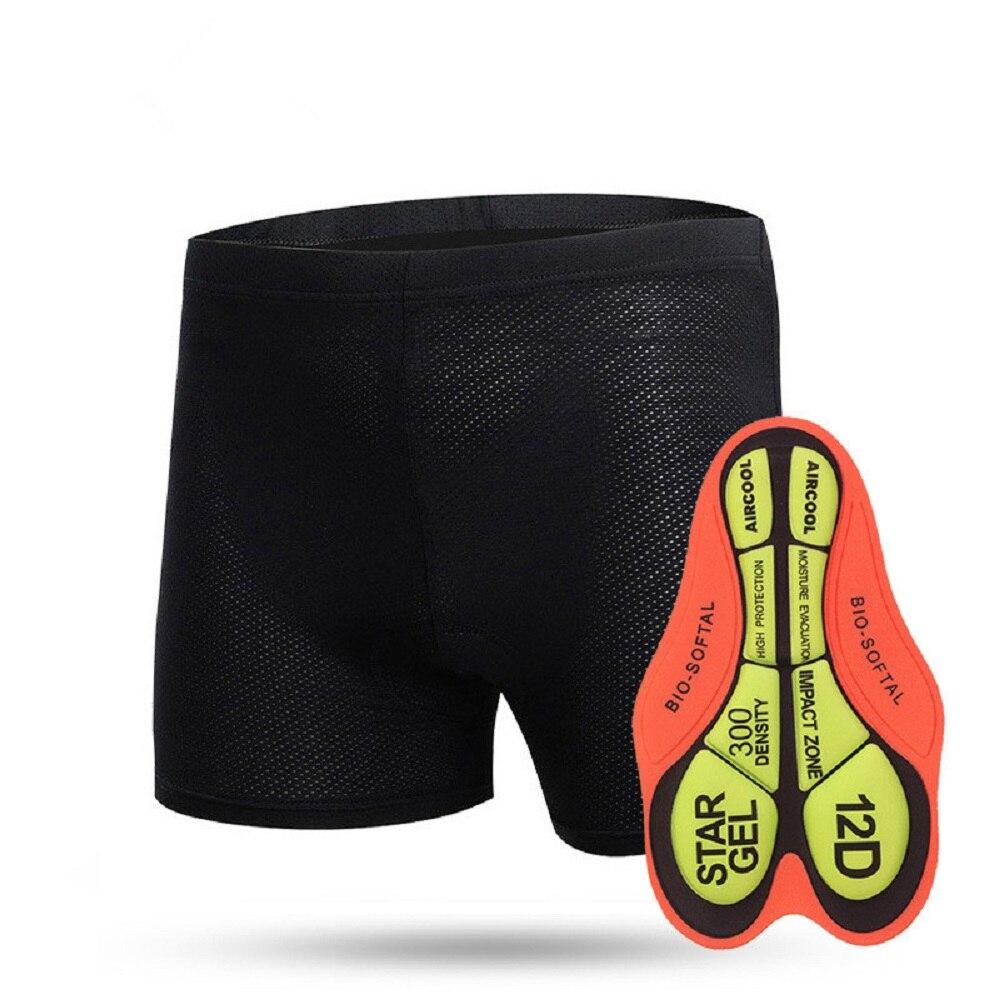 2019 Gel Padded Cycling Underwear MTB Bicycle Cycling Bib Shorts Riding Mountain Bike Sport Underwear Compression Cycling Tights