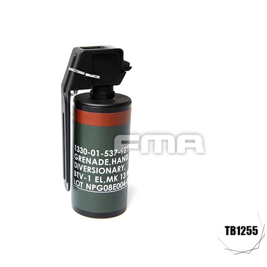 FMA MK13 Short Version Shock Model Flash Bang Dummy for Molle System TB1255 Free Shipping