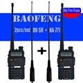 2 шт./компл. Baofeng УФ-5R Рация Walkie Talkie УФ-5R UV5R двухстороннее радио Передатчик + Женский мягкая антенна NA-771