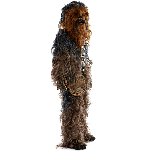 Star Wars Chewbacca Cosplay Costume Halloween Party Suit Costumes jumpsuit helmet gloves bag Shoe cover5