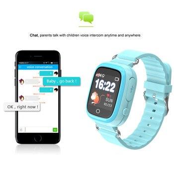 Q90S Enfants Smart Wtach étanche GPS Téléphone Positionnement Mode Montre 1.22 Pouces Couleur écran Tactile WIFI SOS Montre Intelligente PK Q50
