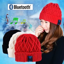 CSR Chip Wireless Talk Call Bluetooth Smart Cap Beanie Hat Headphone Headset Speaker Mic With 3 Colors