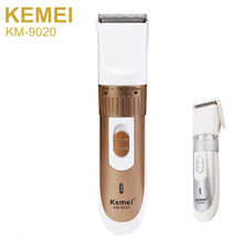 Men Rechargeable Hair Trimmer Clipper Electric Shaver Razor Beard shaving Cutting Machine EU plug haircut hair remover KM-9020