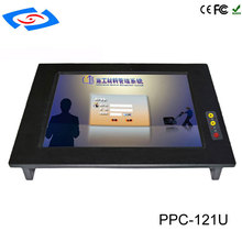 All In One PC 12.1″ Professional Manufacturer touch screen inustrial panel pc With Intel Core i5-3317U Optional i7-3517U