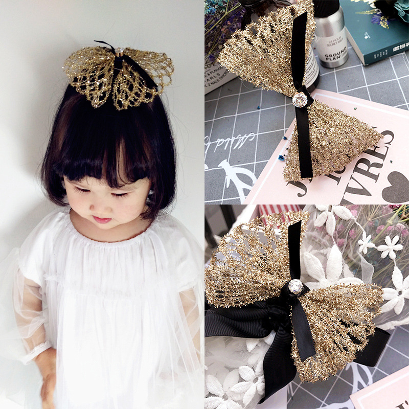 New Korea Luxurious Crown Hairpin Sparkling Gem Hair Clips P Crystal Hair Grips for Girls Hair Accessories in Hair Accessories from Mother Kids