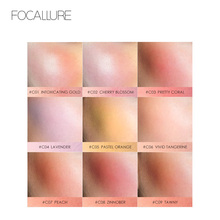 купить Focallure New Arrival Blush with High pigment Shimmer Matte finish face Make up long lasting and easy to wear дешево