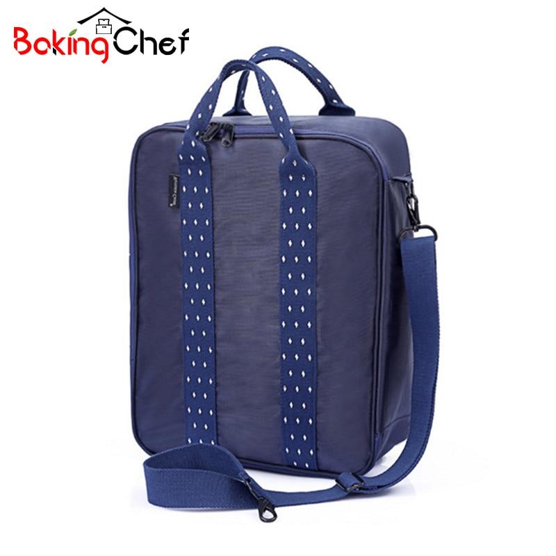 BAKINGCHEF Fashion Travel Suitcase Storage Bag Clothing Packaging Space Saving Holder Organizer Accessories Supplies Gear Stuff