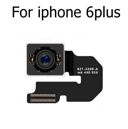 Original cámara trasera principal para iphone 4 4S 5 5S SE 5C 6S 6 7 8 Plus X XS Max XR trasera Cámara Grande cinta de cable Flex 100% prueba
