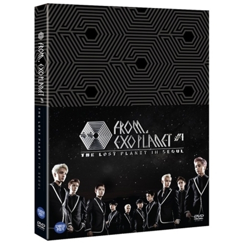 EXO FROM EXOPLANET 1 THE LOST PLANET - IN SEOUL  + 152pages Special Photobook) KPOP Album exo 2nd album repackage love me right kpop