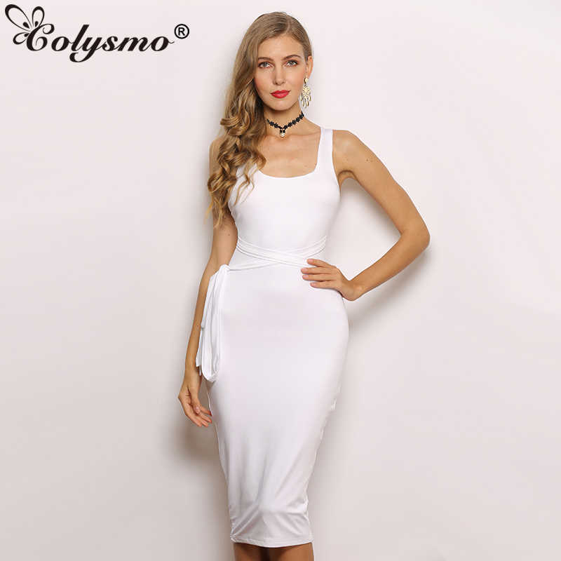 b45e114b90 Detail Feedback Questions about Colysmo Satin Maxi Dress Women Sexy ...