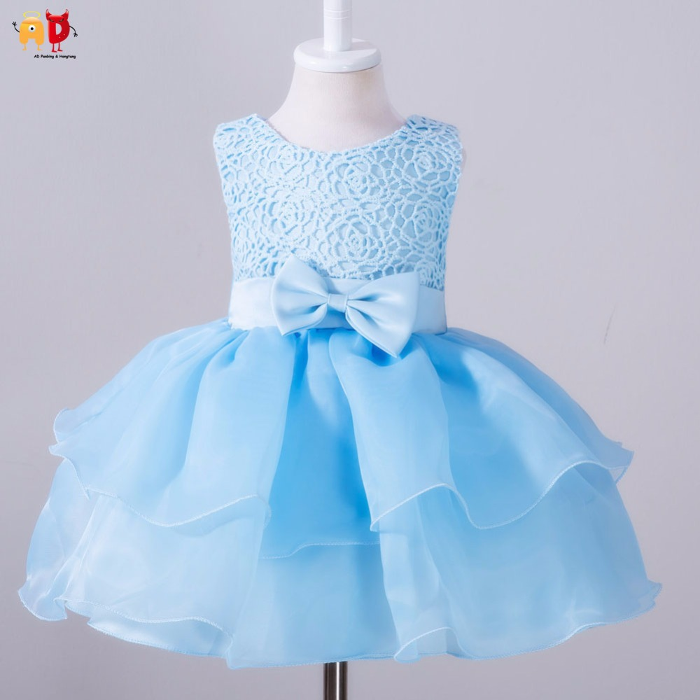 Online Shop AD Party Birthday Festival Dresses Baby Girls Beautiful ...