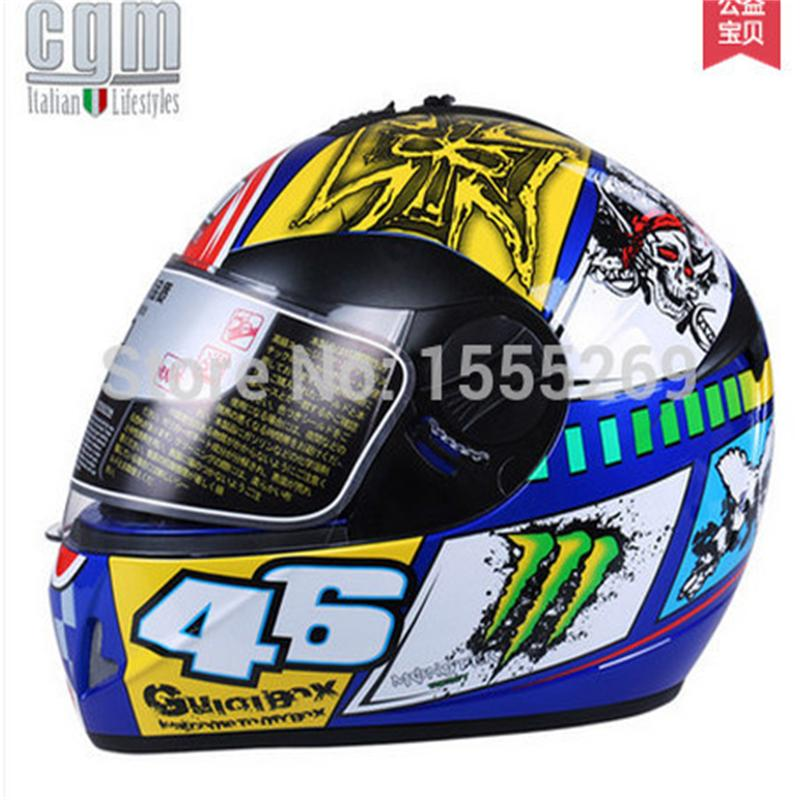 ФОТО Free shipping Italy CGM dual lens motorcycle helmet full helmet winter helmet men and women run high-end helmet send bib