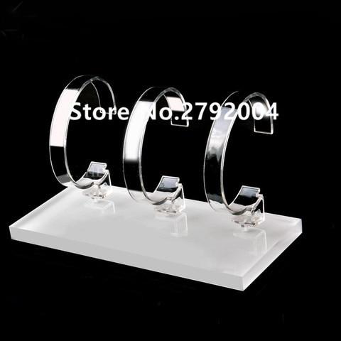 5 pcs lote relogio personalizado acrilico transparente titular estande para