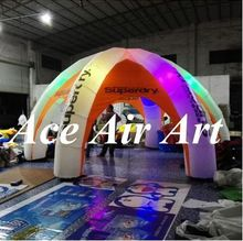 new style cheap inflatable dome tent with led for advertising, exhibition,trade show