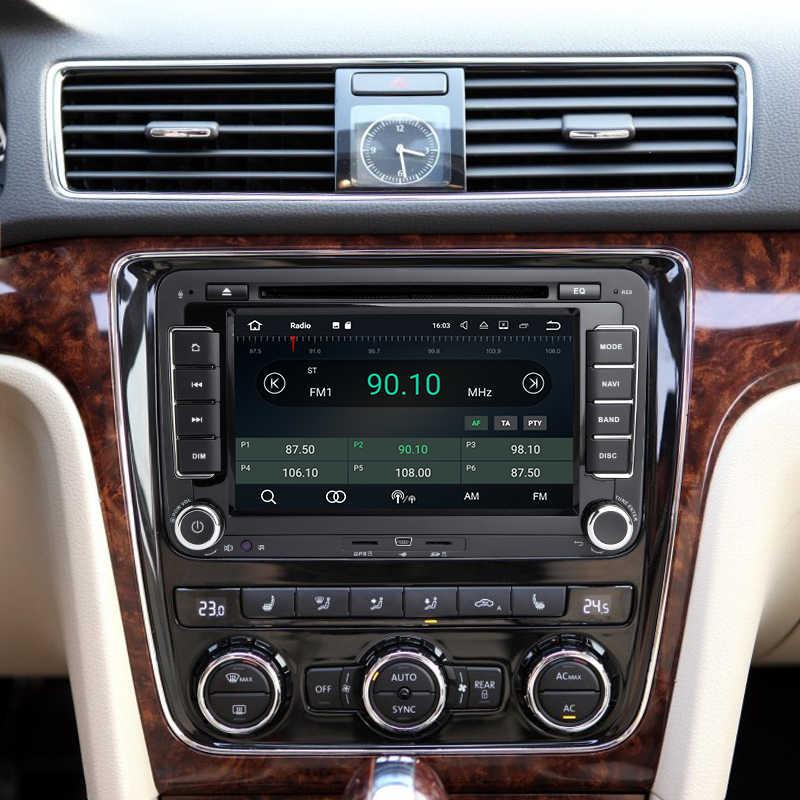 Android 8,0 7 дюймов DVD плеер автомобиля для VW/Volkswagen/POLO/Golf/Skoda/Octavia/Seat/Леон DSP Мультимедиа стерео навигации gps радио