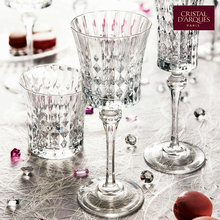 Imported French bows CDA crystal wine glass carved champagne goblet Wine cup with a small time french wine