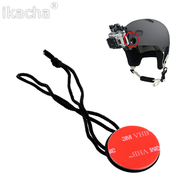 Brand New Safety Insurance Tether Straps With Sticker Mounting Kit For GoPro HD Hero SJ4000 For Xiaomi Yi Camera
