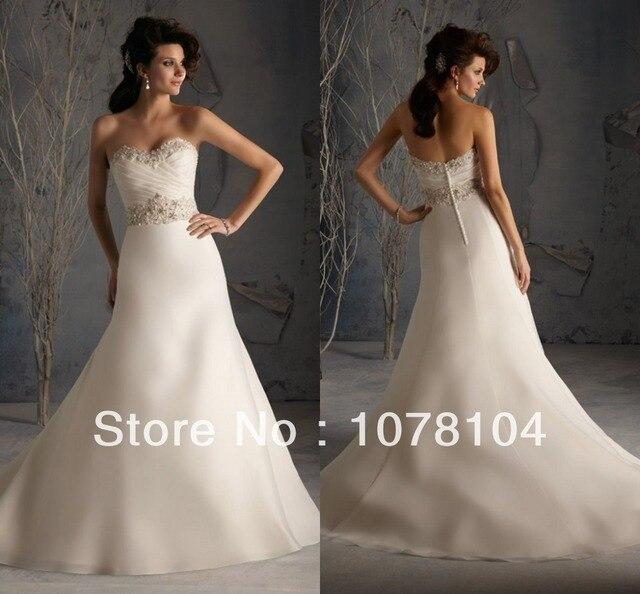 Latest Designs Organza Mermaid Sweetheart Neckline Crystal Beading Wedding  Factory Dresses Wedding Dress In Cream Color c4cada8cb168