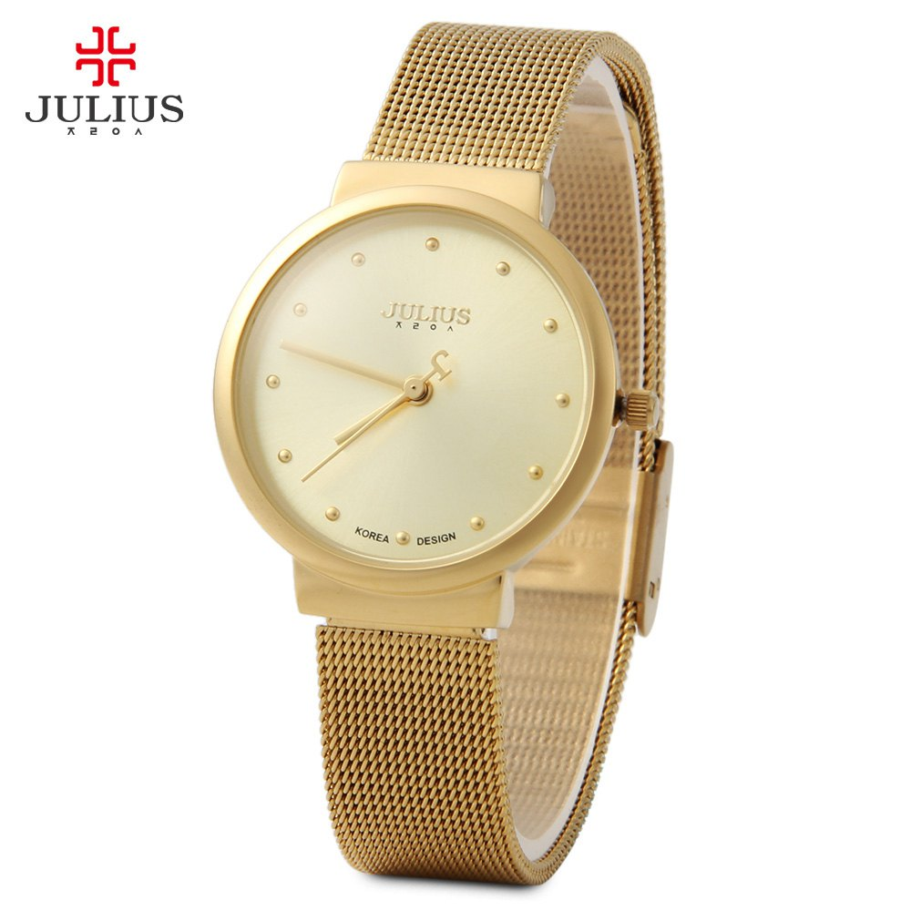 New Brand Julius Relogio Feminino Clock Women Watch Stainless Steel Watches Ladies Fashion Casual Watch Quartz