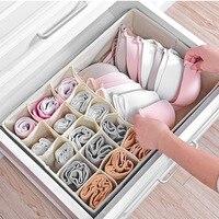 Underwear Bra Organizer Storage Box Drawer Closet Under The Bed Organizers Boxes For Underwear Scarfs Socks Bra Home Storage