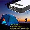 2017 High Power 12000mAh Multi-Function 12V Car Jump Starter Portable 400A Peak Car Charger Mini Power Bank SOS Lights Free Ship