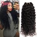 Peruano Onda Profunda Peruano Curly Virgem Cabelo 4 pcs Lot Peruano kinky curly cabelo weave barato cabelo humano bundle rosa queen cabelo