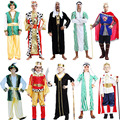 Arab Clothing King Prince Dubai Cosplay Carnival Halloween Costumes Birthday Party