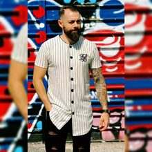 82809cf971b Summer fashion Mens Tees Fashion Streetwear Hip Hop sik silk baseball jersey  striped shirt Men Clothes tyga Brand Clothing