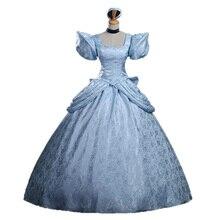 Princess Cinderella Dress Cinderella Cosplay Costume Adult Women Halloween Cinderella Costumes Cosplay Custom Made cinderella