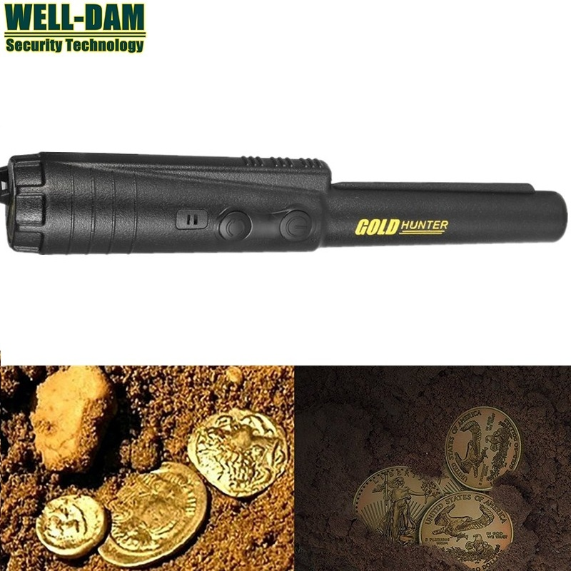 FREE SHIPPIGN Hand Held Metal Detectors Gold Hunter ProPointer PinPointer Gold Detector free shipping wholesale gold detector propointer pinpointer