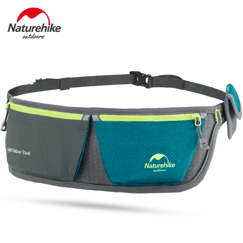 NatureHike Ultralight Portable Waist Bags Sport Packs Bag Cycling Waterproof Outdoor Storage Bag Running Unisex Hiking 4 Color